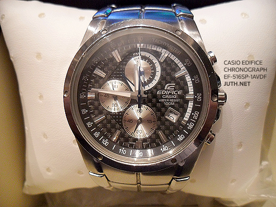Casio Edifice Chronograph รุ่น EF-516SP-1AVDF