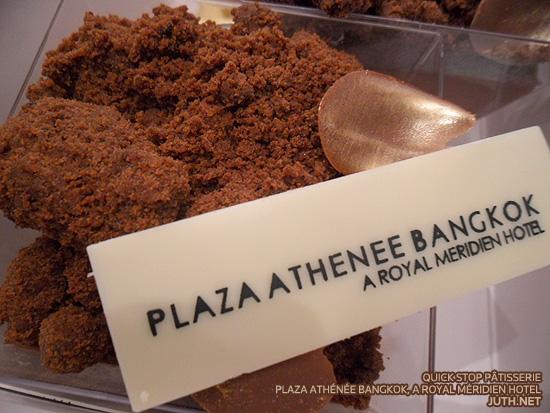 Quick Stop Pâtisserie, Plaza Athénée Bangkok, A Royal Méridien Hotel